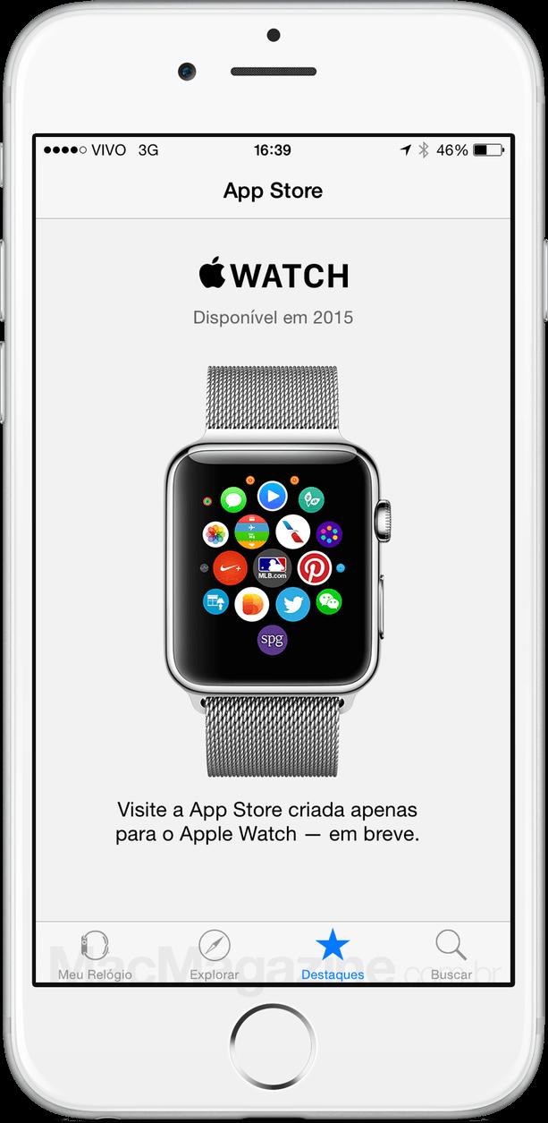App Store do Apple Watch
