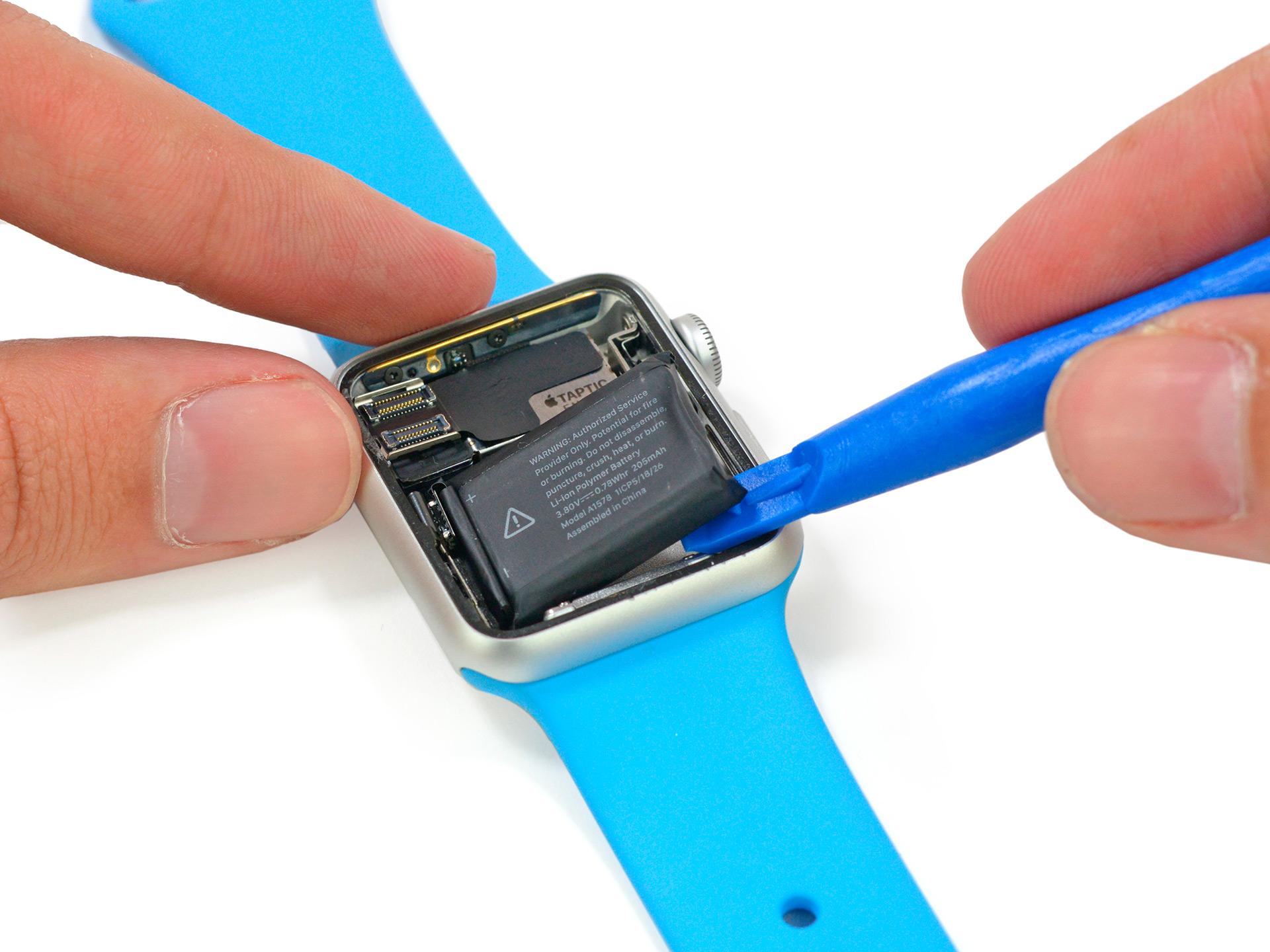 A bateria do Apple Watch