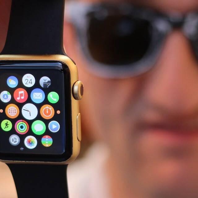 Apple Watch de ouro por Casey Neistat
