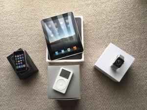 iPod, iPhone, iPad e Apple Watch originais
