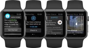 Aplicativo Apple Store em Watches