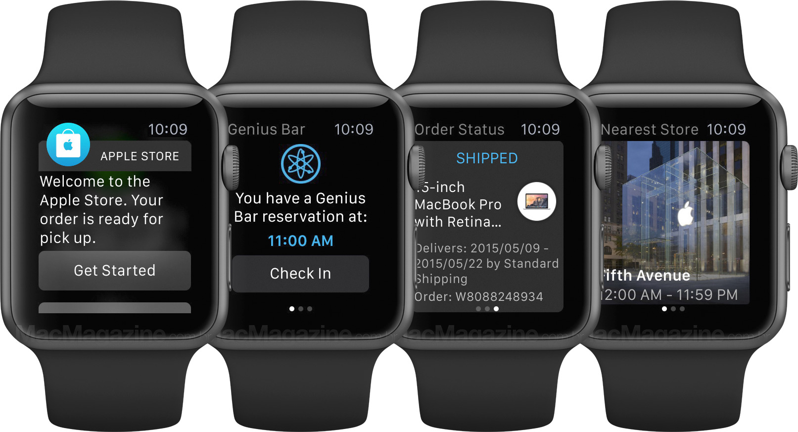 Aplicativo Apple Store em Watches