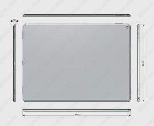 "Render do ""iPad Pro"""