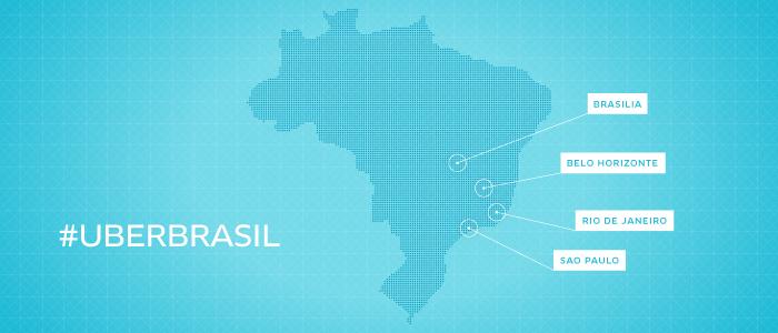 Uber no Brasil