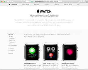 Apple Watch - Human Interface Guidelines