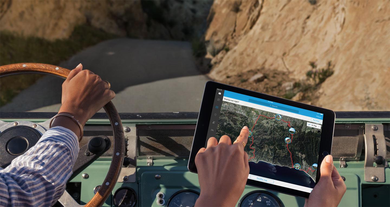 Tudo muda com o iPad - Viajando