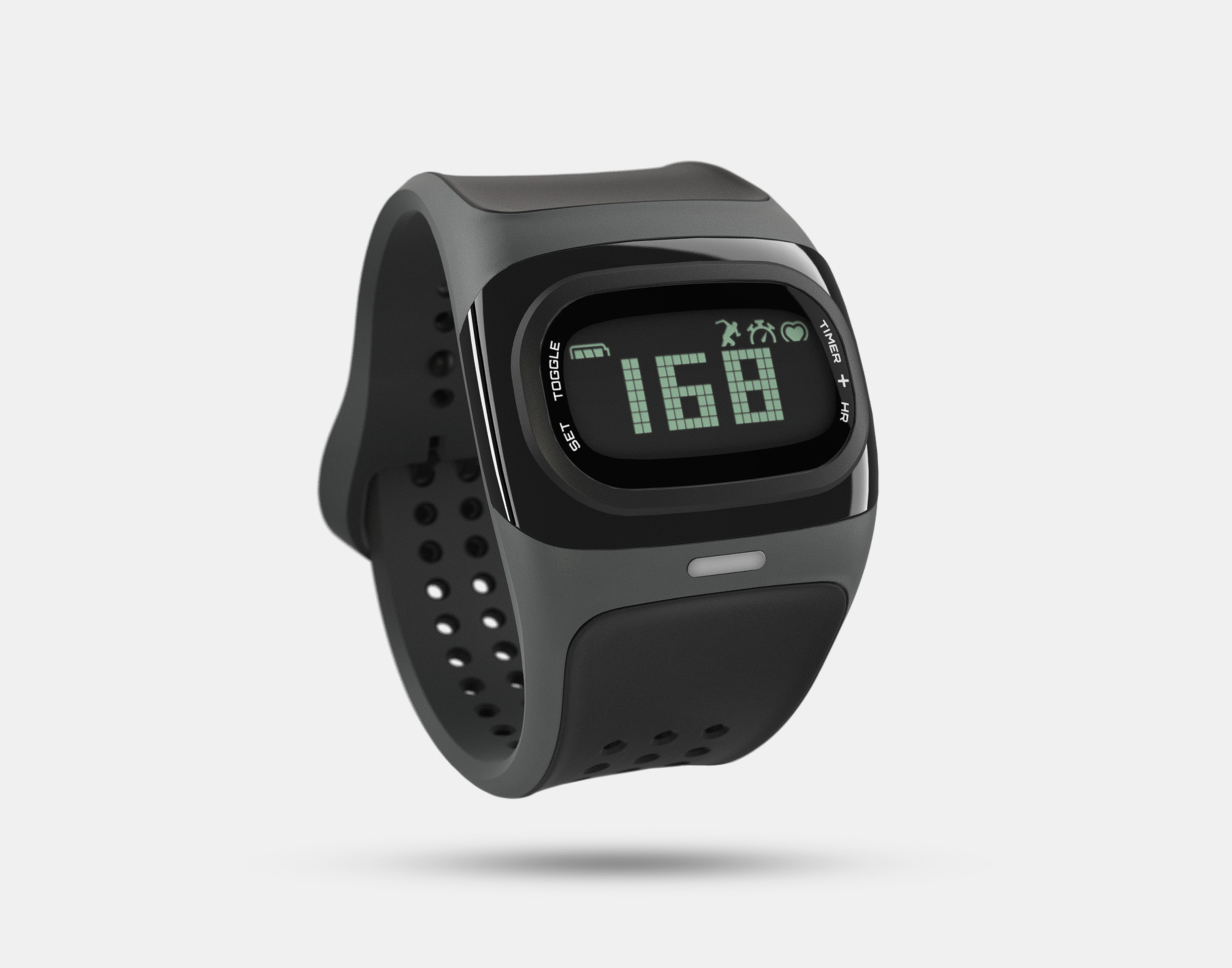 MIO ALPHA (BLACK) HEART RATE SPORT WATCH