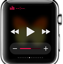 Música no Apple Watch