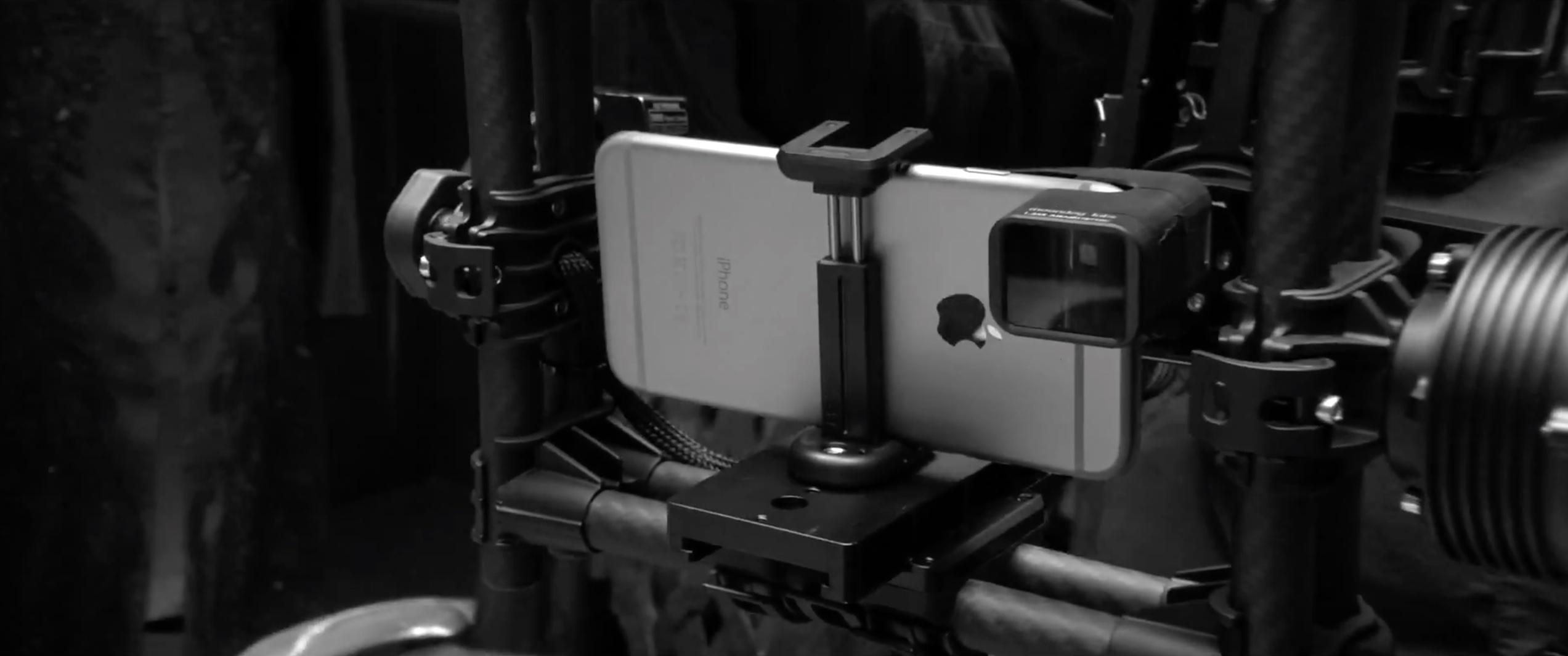 Comercial da Bentley filmado com iPhones