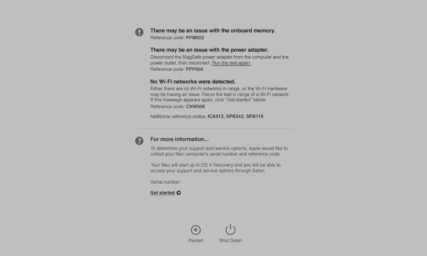 Apple Diagnostics