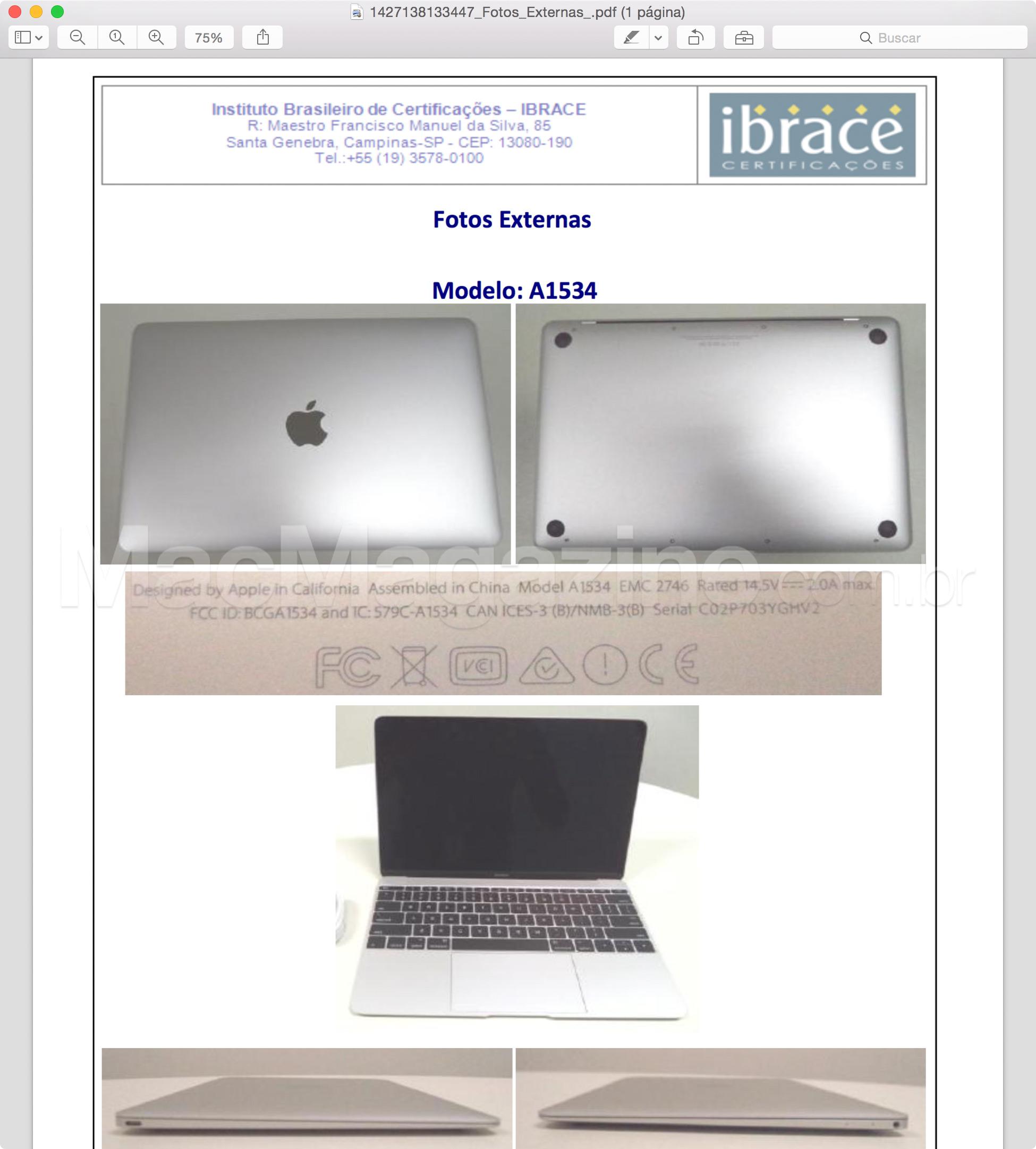 Anatel homologa novo MacBook