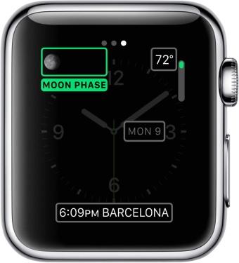 Complicações do Apple Watch