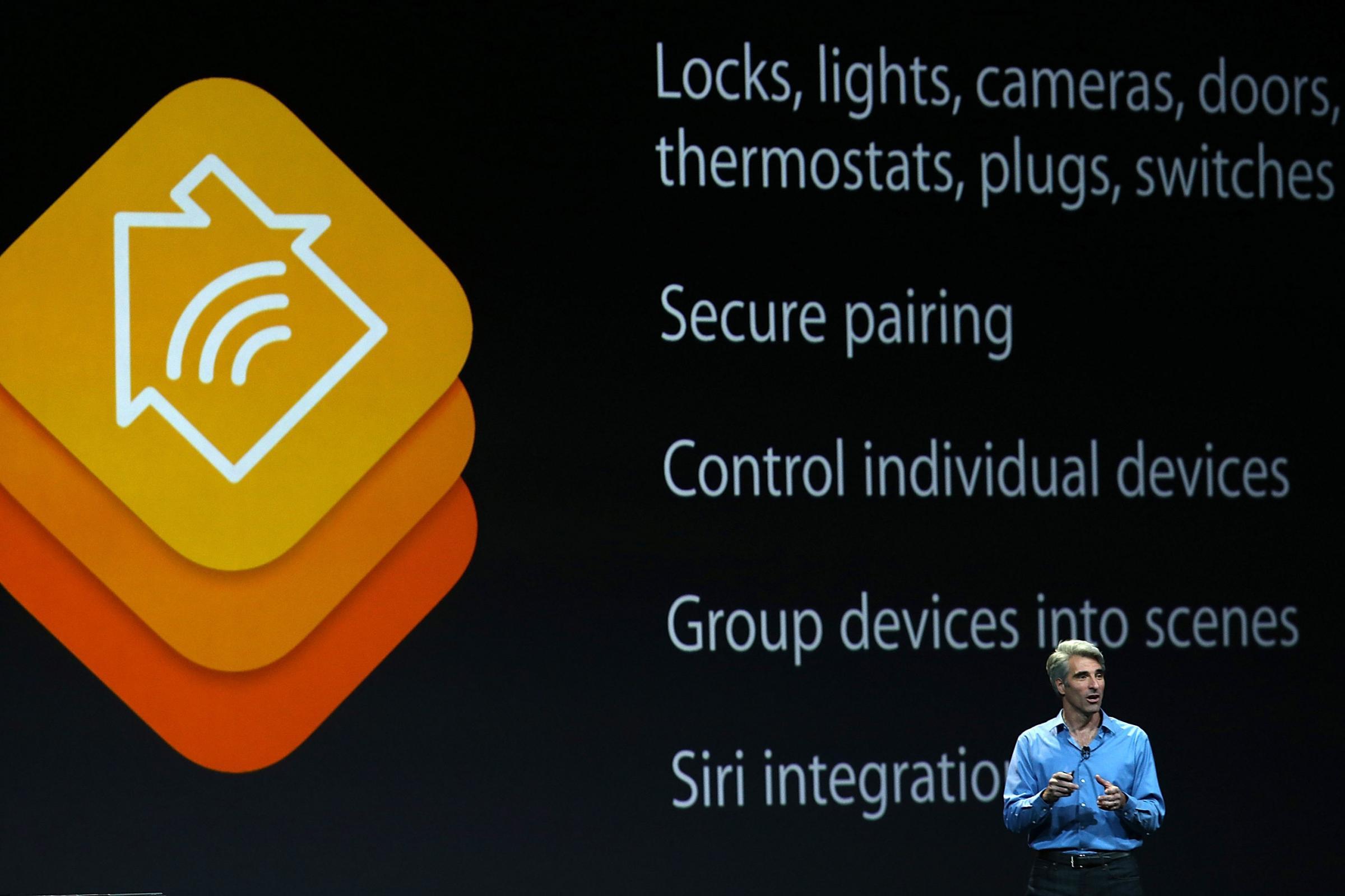 Apresentação do HomeKit na WWDC 2014
