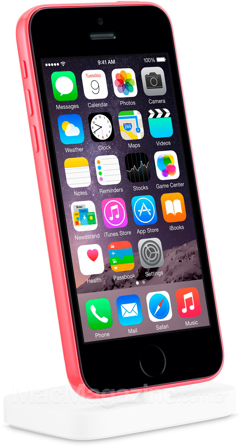 iPhone 5c com Touch ID