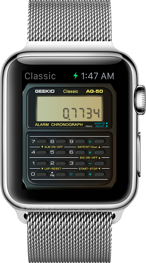 Geek Watch no Apple Watch