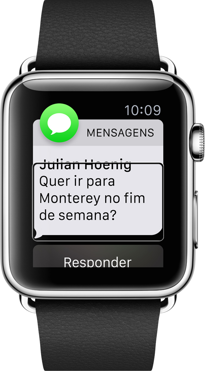Apple Watch - VoiceOver
