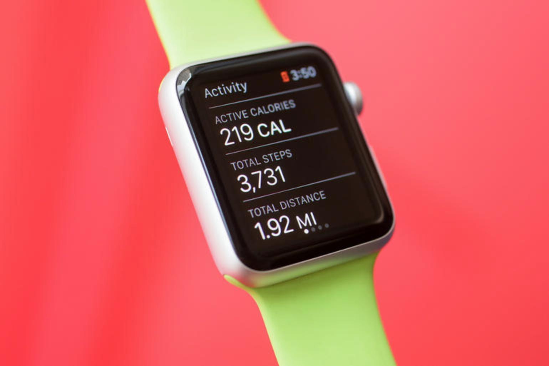 App Atividade, do Apple Watch