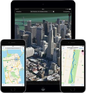 Mapas no iOS