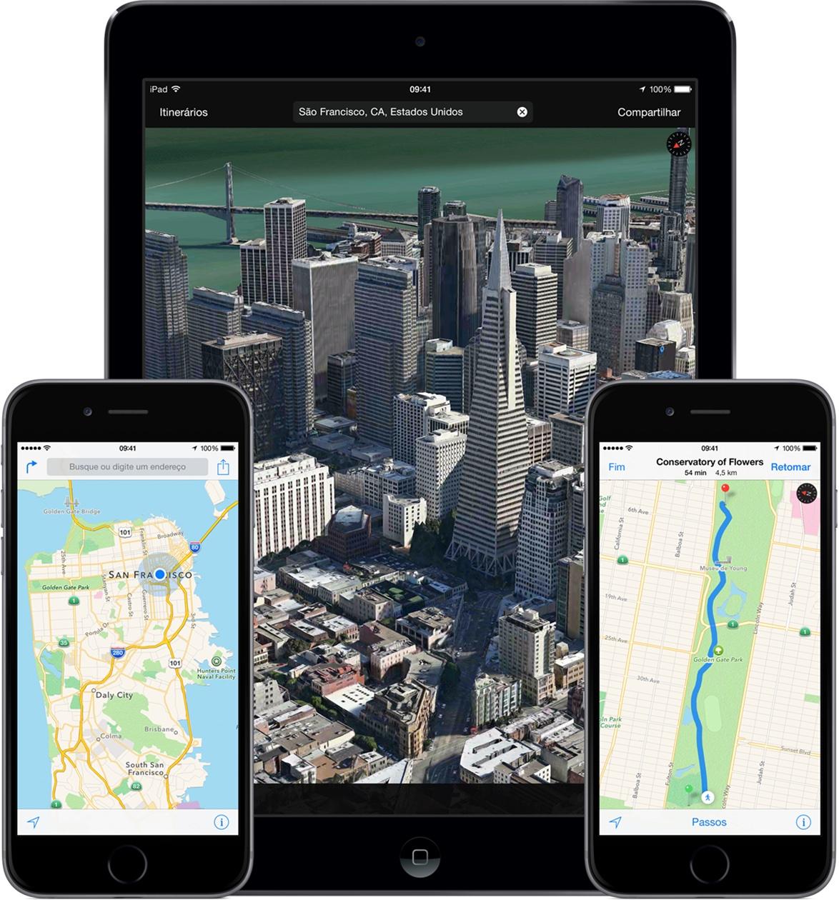 Mapas no iOS