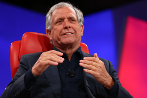 Les Moonves, CEO da CBS