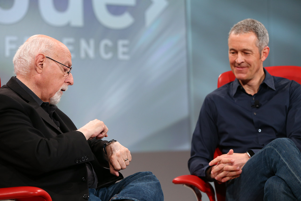 Jeff Williams e Walt Mossberg