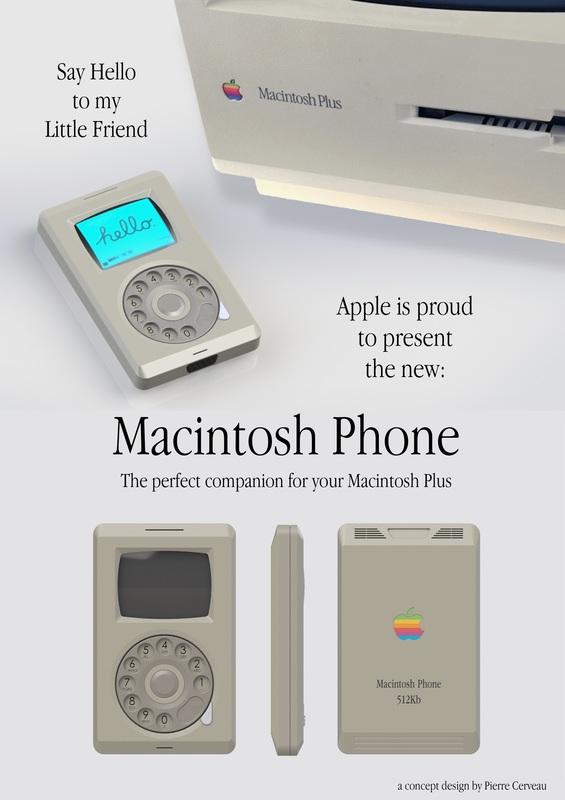Conceito de Macintosh Phone