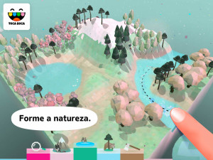 App Toca Nature para iOS