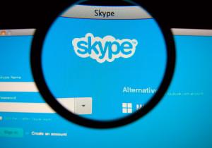 Skype com lupa
