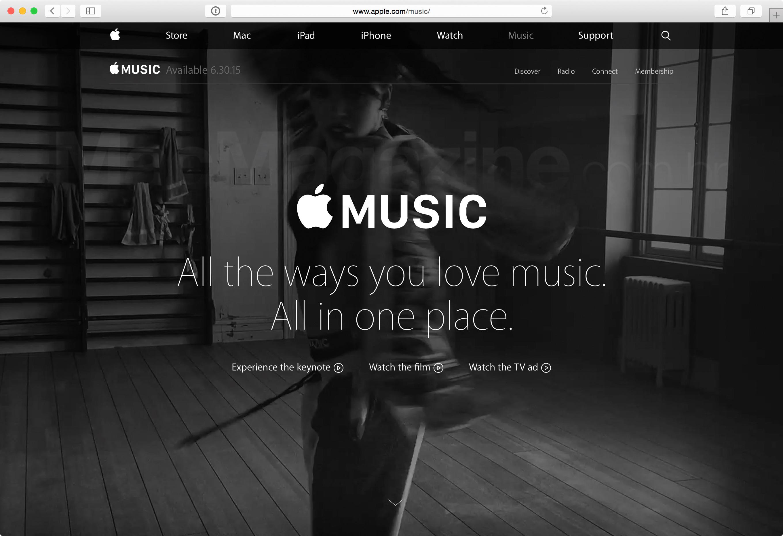 Disponibilidade do Apple Music