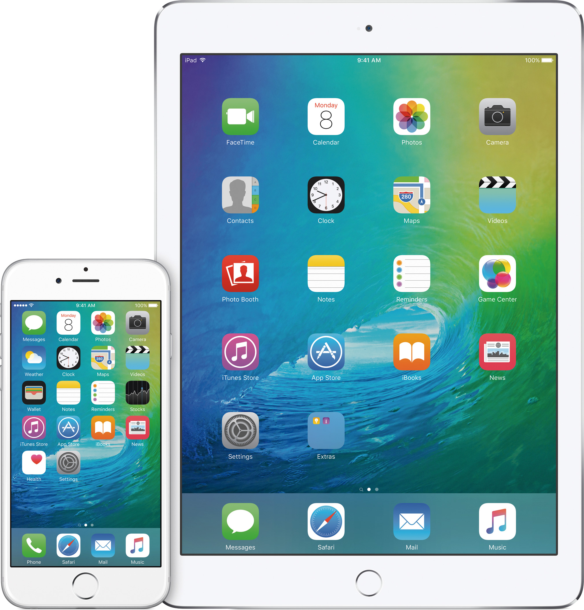 iOS 9 no iPhone e no iPad