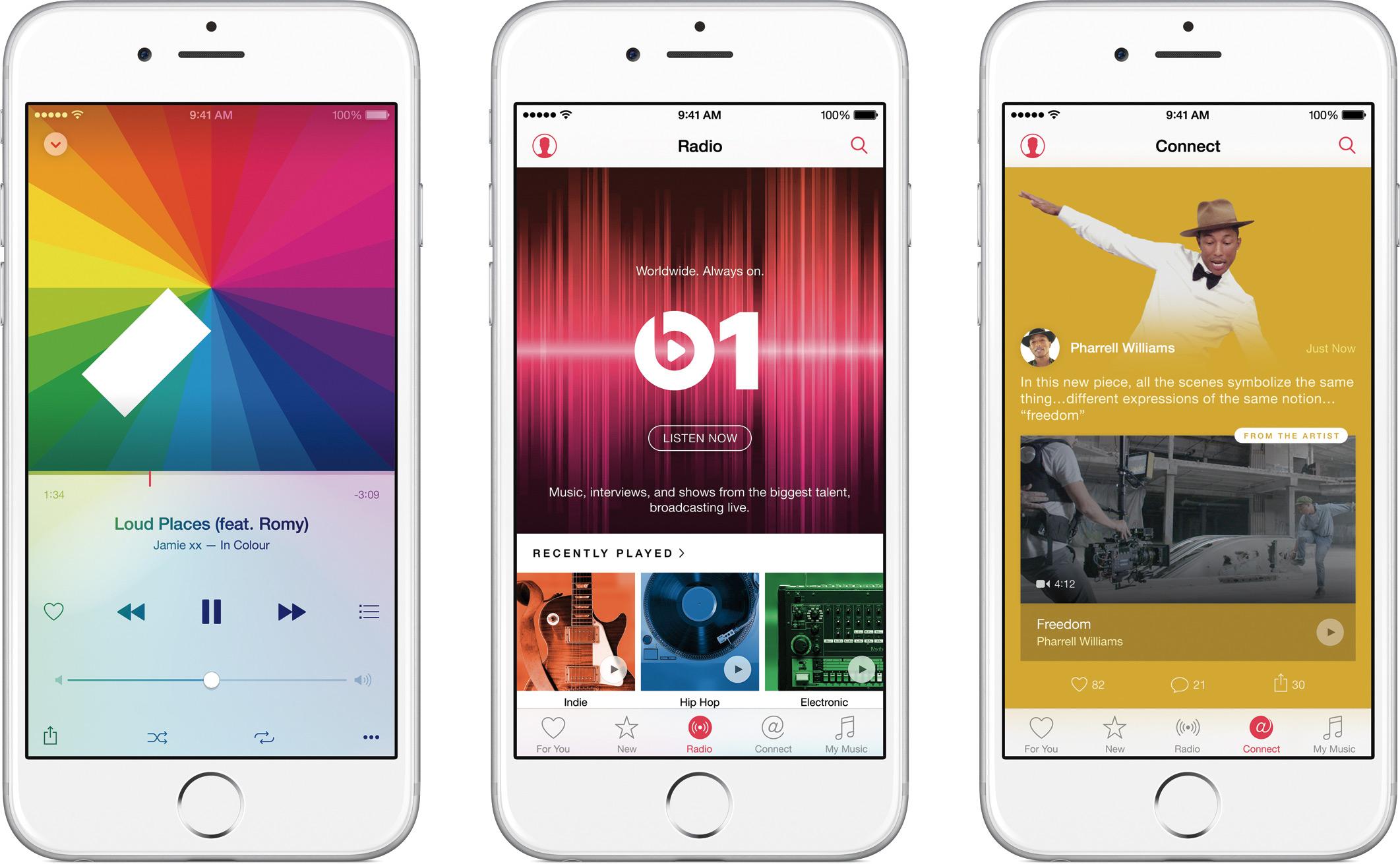 Apple Music em iPhones