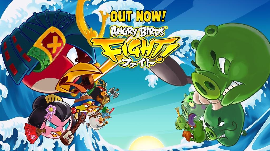 Jogo Angry Birds Fight!