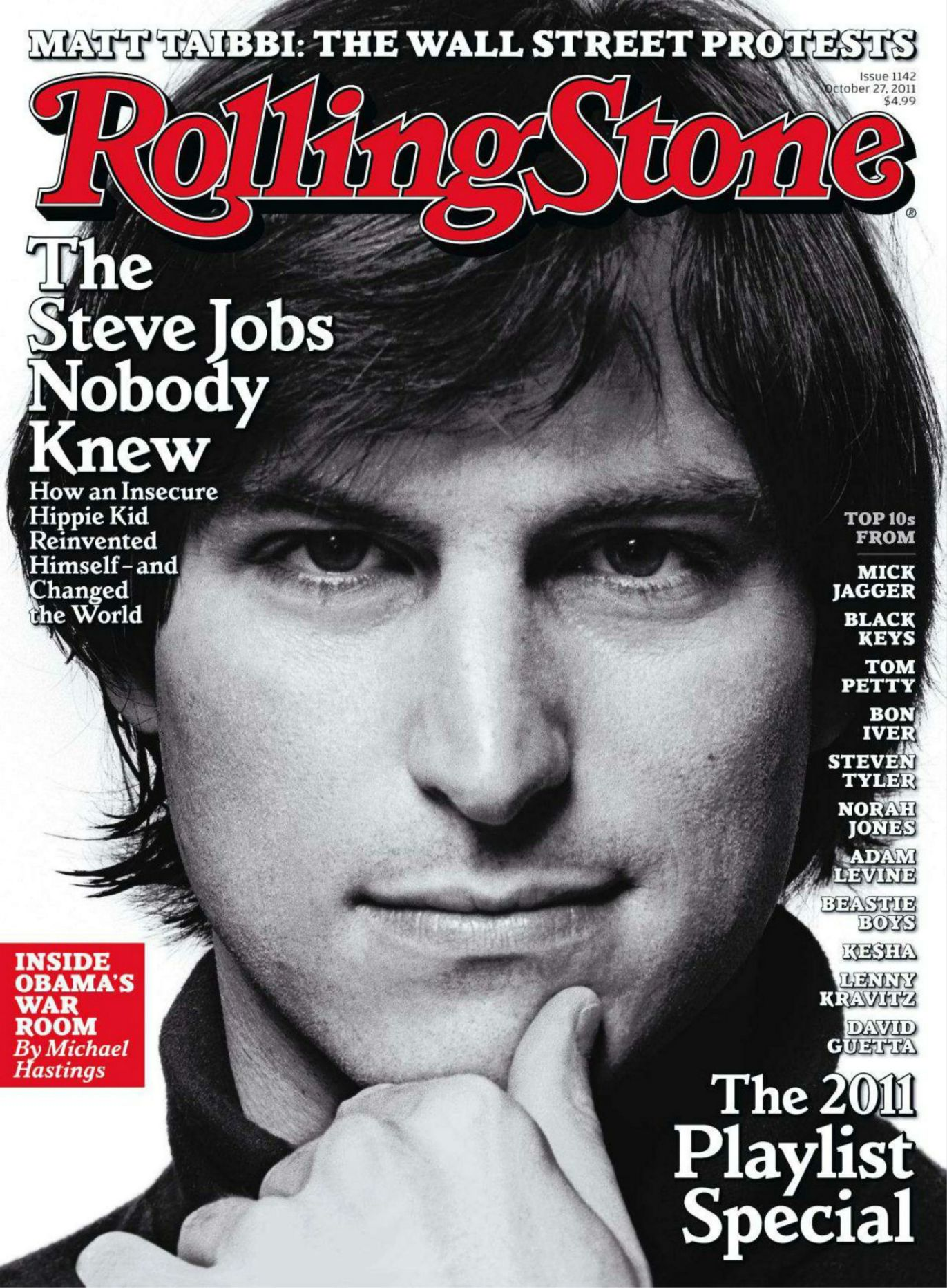 Steve Jobs na capa da Rolling Stone