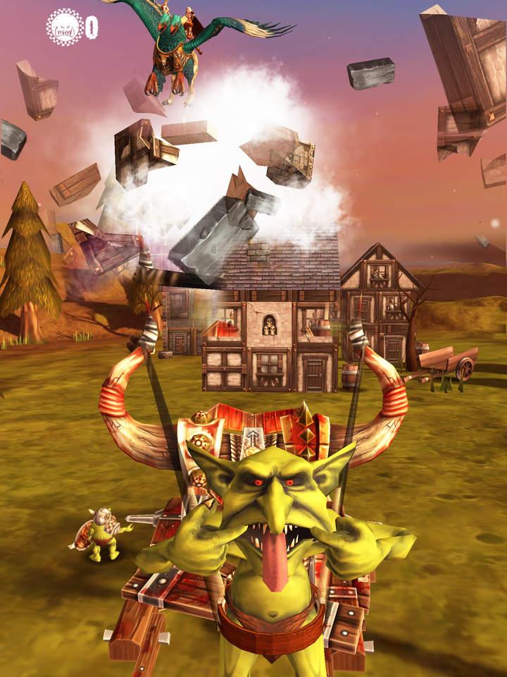Jogo Warhammer: Snotling Fling para iOS