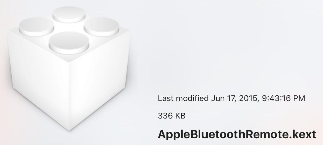 Referências a um novo controle remoto Bluetooth