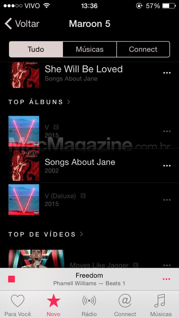 Músicas explicit bloqueadas no Apple Music