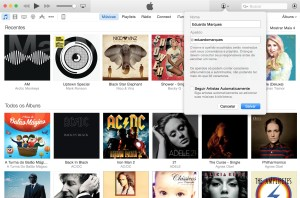 Apple Music - Apelido no iTunes