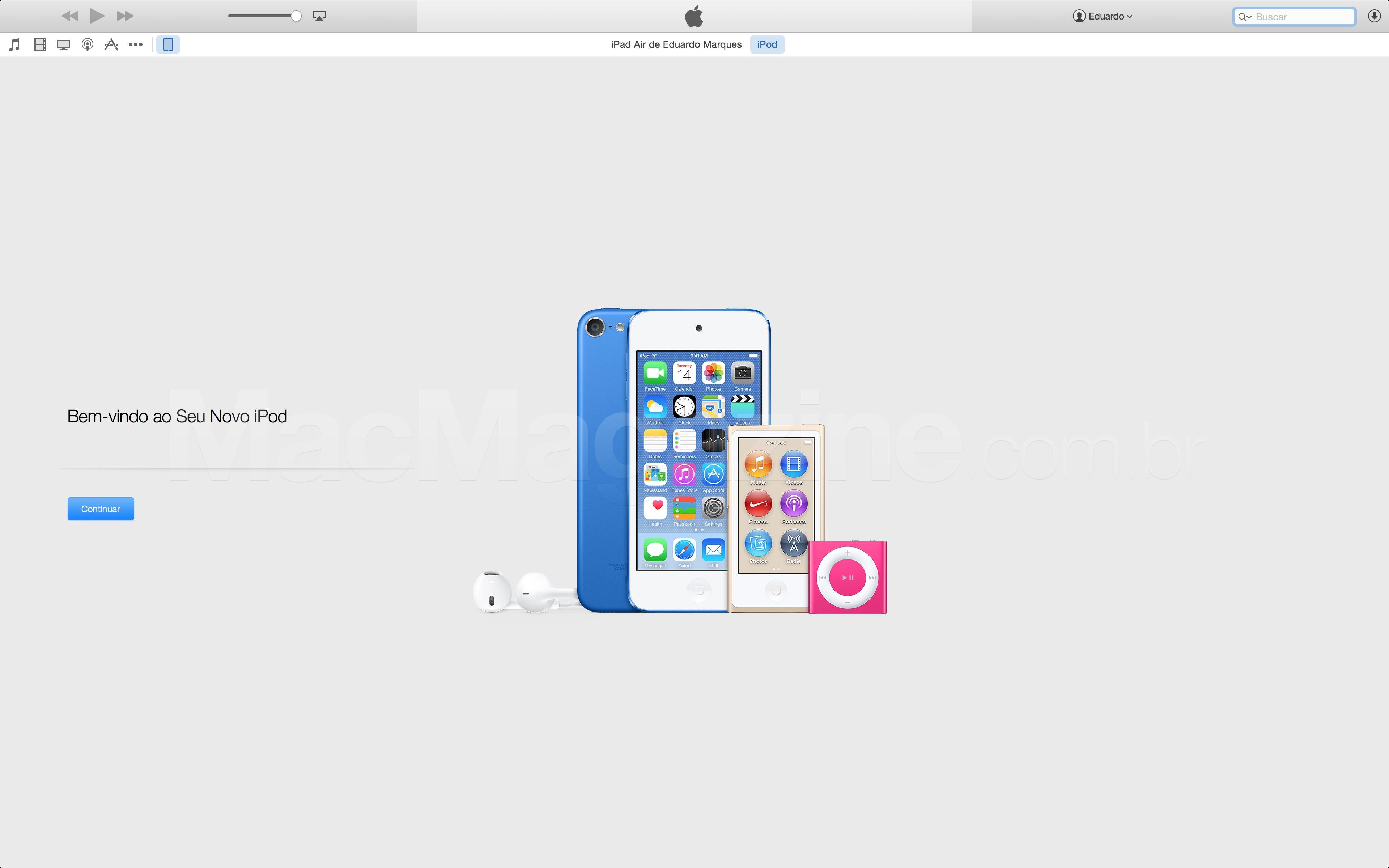Novos iPods?