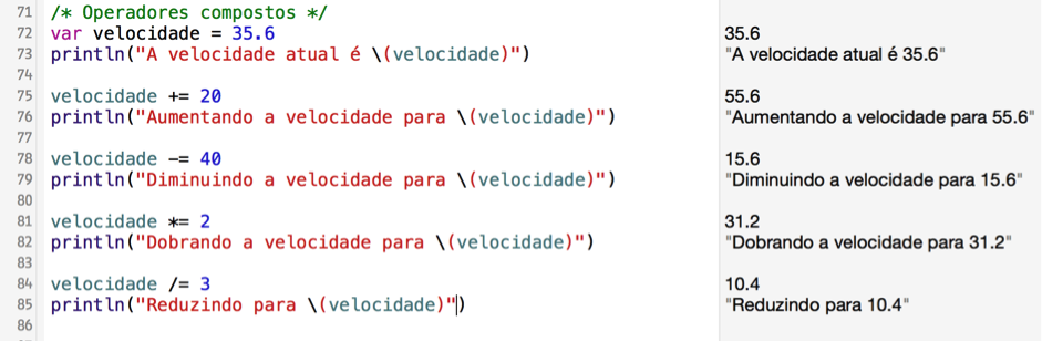 Aprendendo Swift com a Quaddro