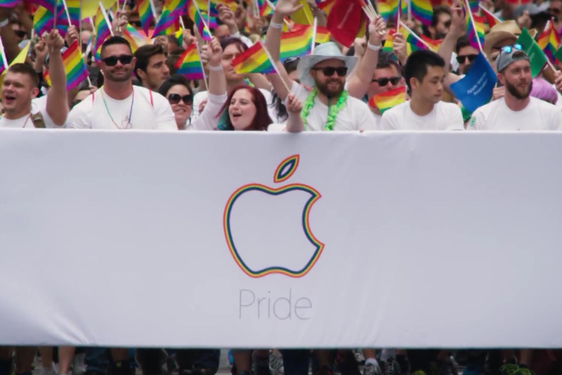 Apple na Parada do Orgulho de San Francisco