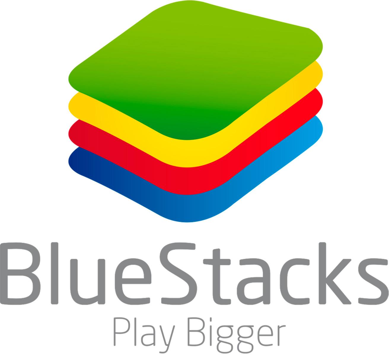Logo do BlueStacks