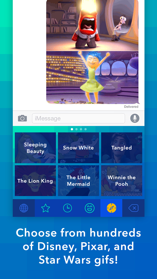 App Disney Gif para iPhones/iPods touch