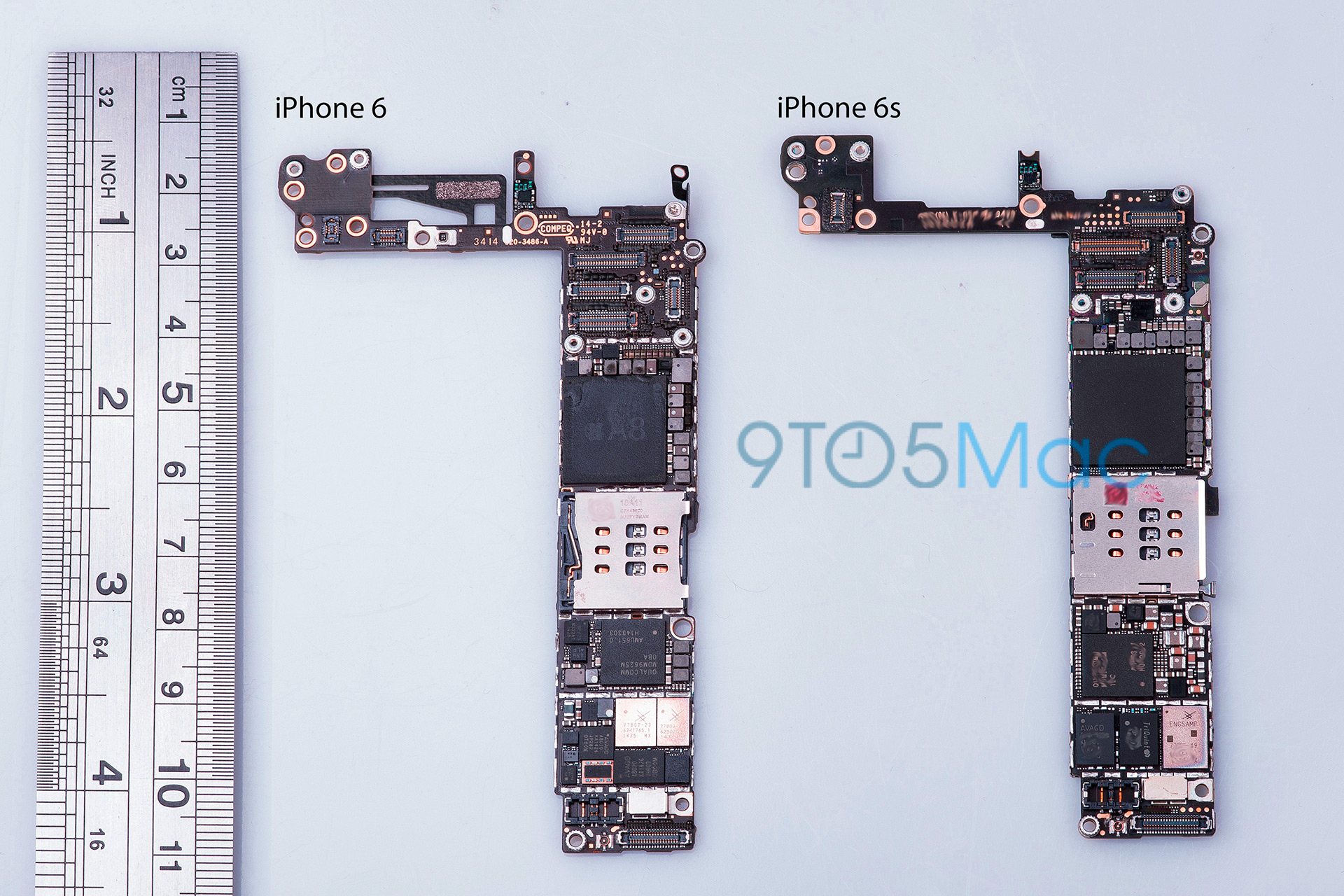 Suposta placa lógica do iPhone 6s