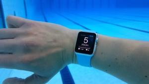 App de natação para o Apple Watch