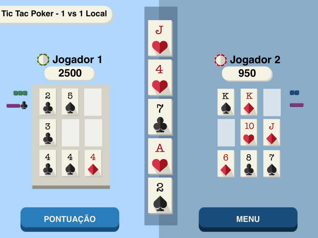 Tic-A-Tac Poker