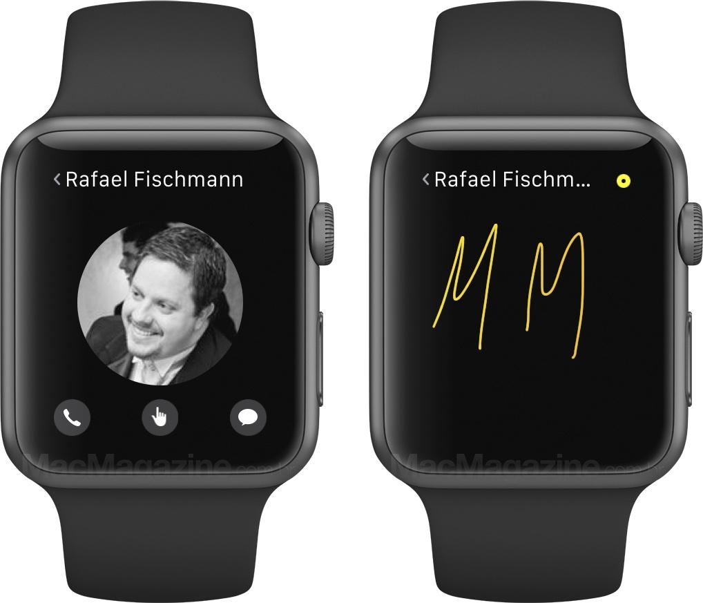 Review do Apple Watch - Comunicação