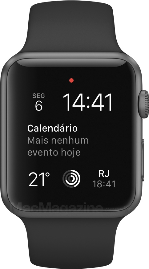 Review do Apple Watch - Fuso horário