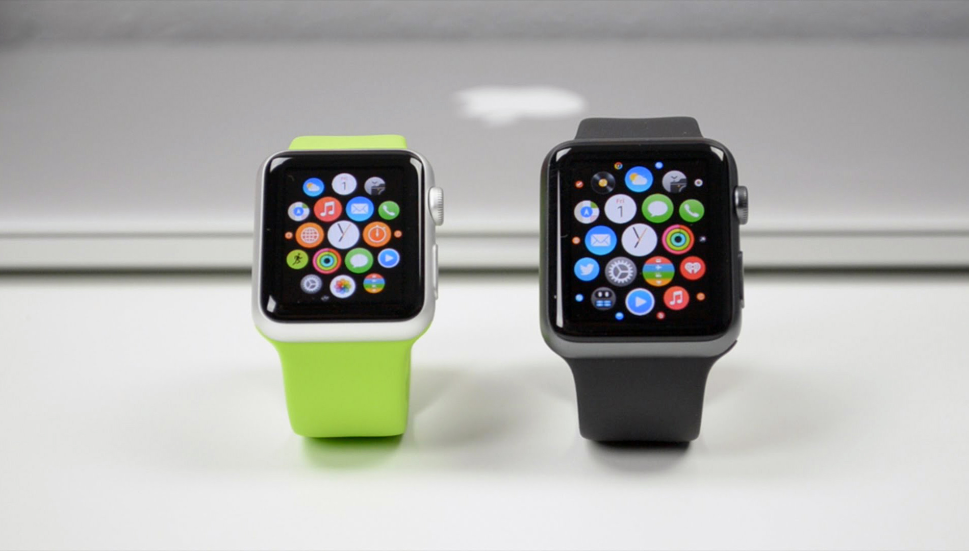 Comparativo de tamanhos do Apple Watch