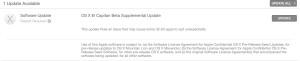 Atualização do OS X El Capitan