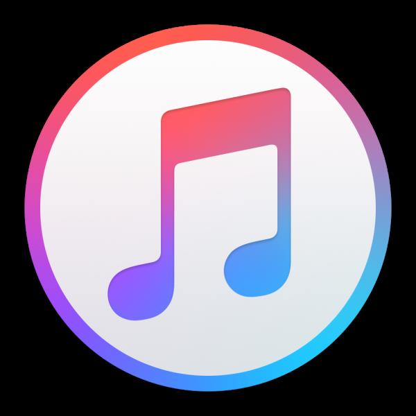 Ícone - iTunes 12.2 no Mac